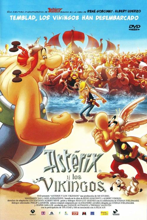 Póster película Astérix y los vikingos