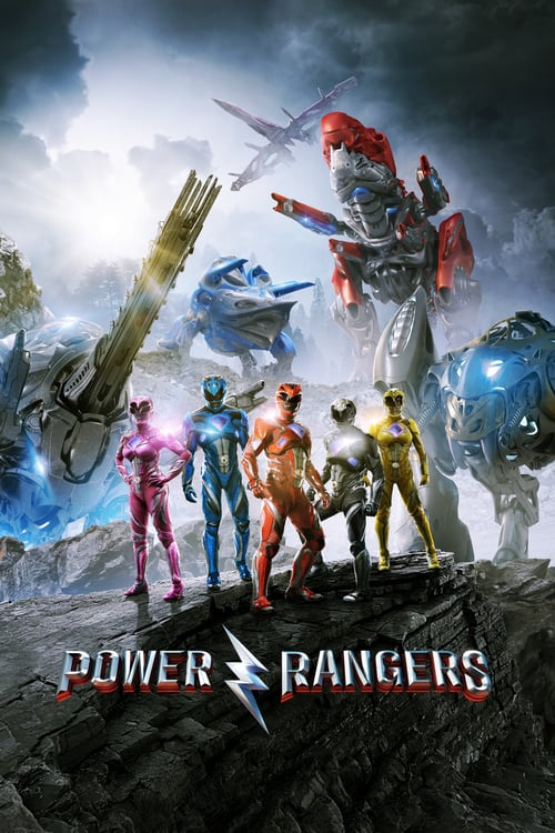 Póster película Power Rangers