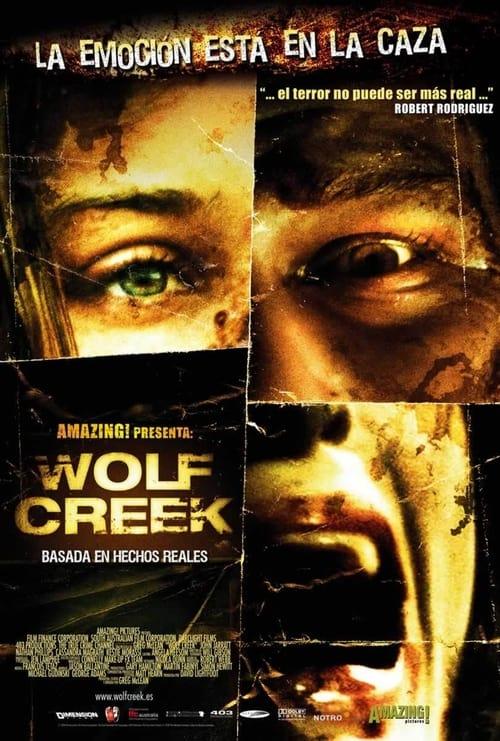 Póster película Wolf Creek