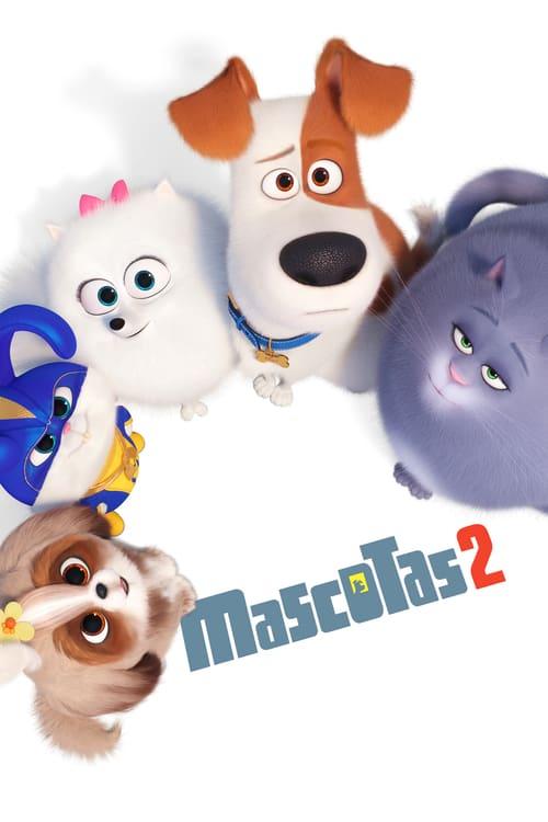 Póster película Mascotas 2