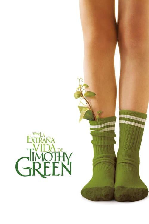 La extraña vida de Timothy Green poster