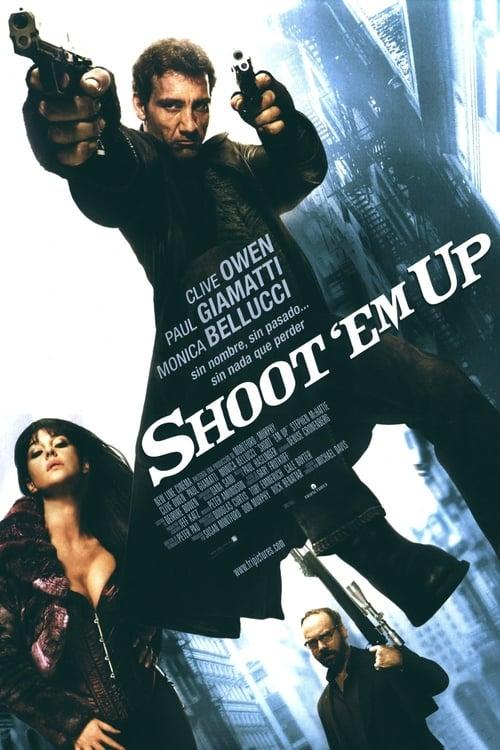 Póster película Shoot 'Em Up (En el punto de mira)