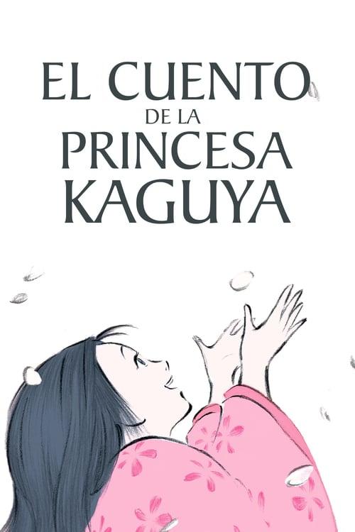 Póster película El cuento de la princesa Kaguya