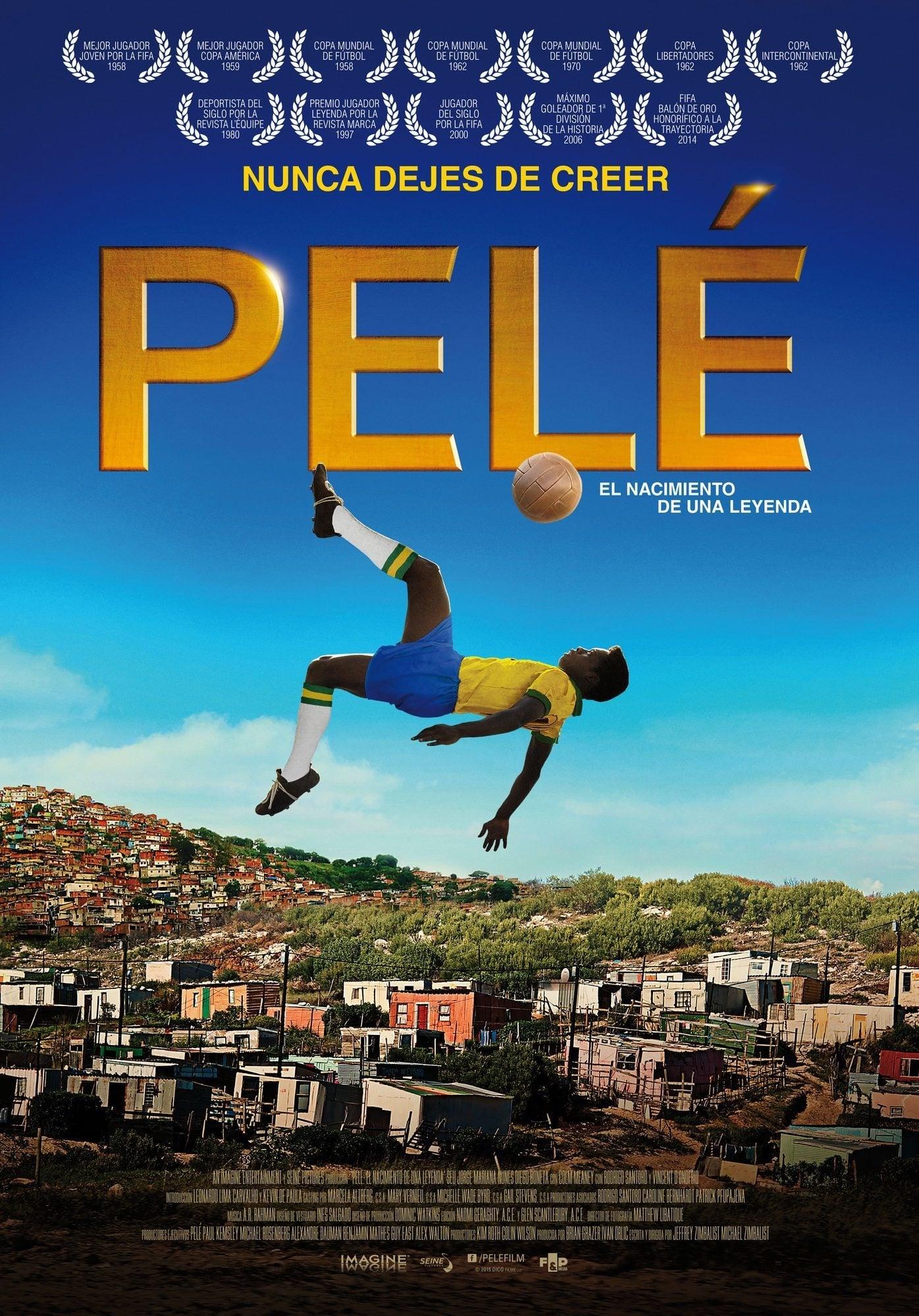 Pelé, el nacimiento de una leyenda poster