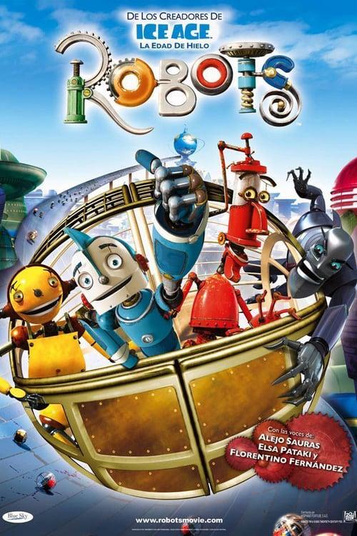 Póster película Robots