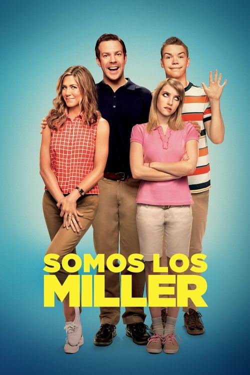 Póster película Somos los Miller