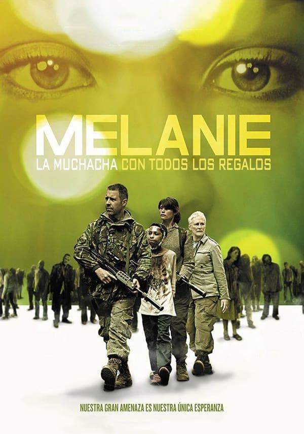 Póster película Melanie. La chica con todos los regalos