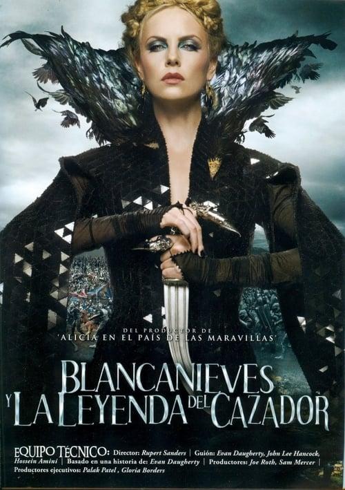 Póster película Blancanieves y la leyenda del cazador