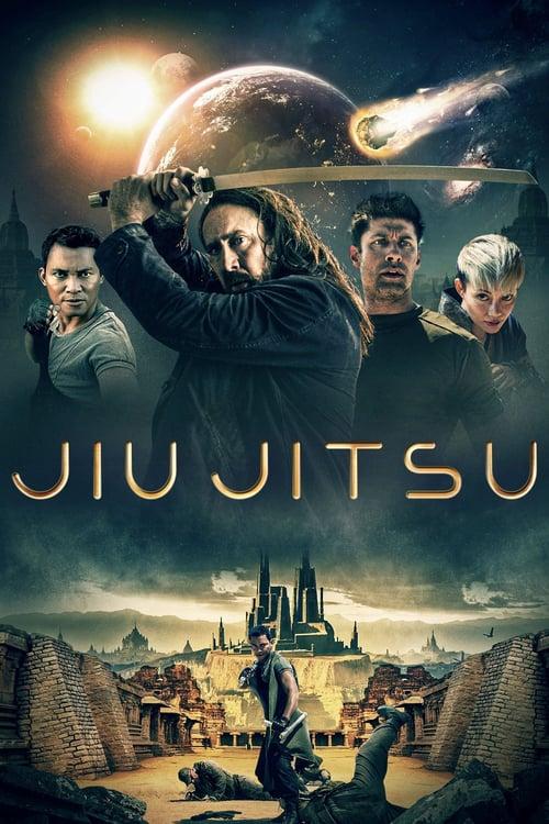 Póster película Jiu Jitsu