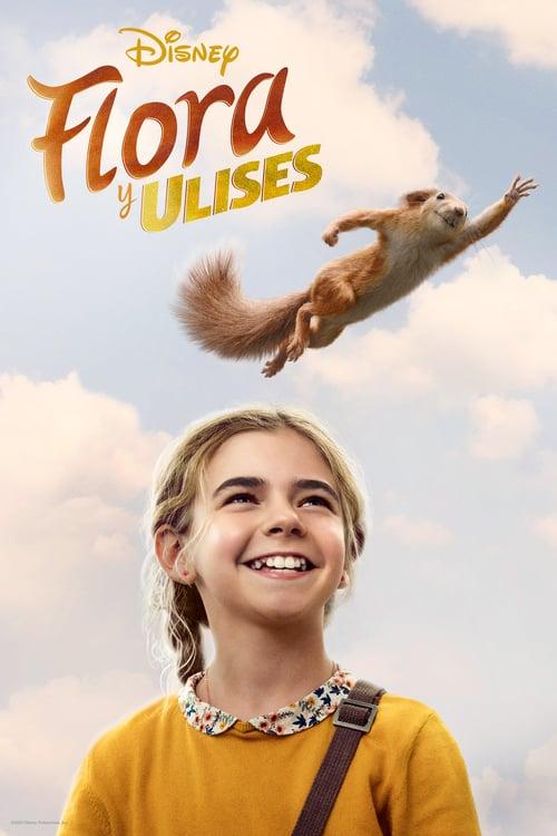 Póster película Flora y Ulises