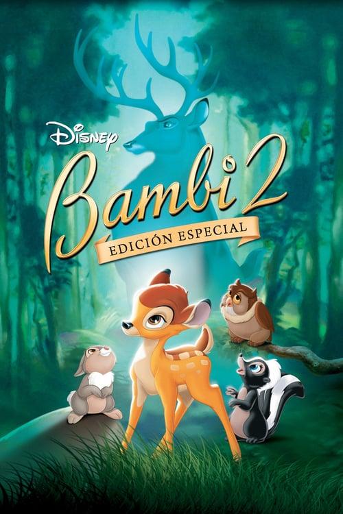 Póster película Bambi 2