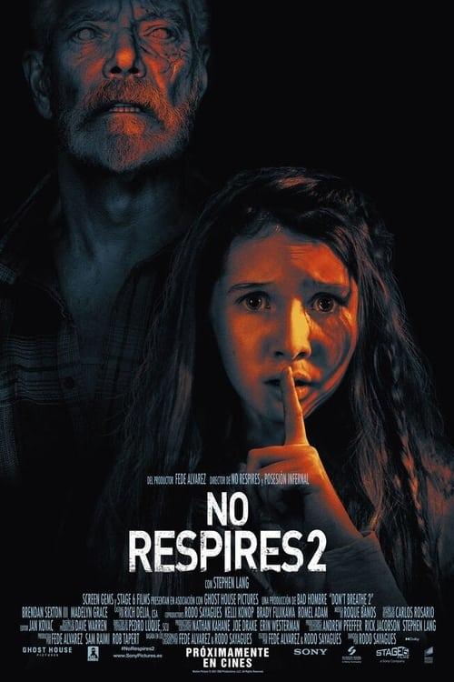 No respires 2 poster