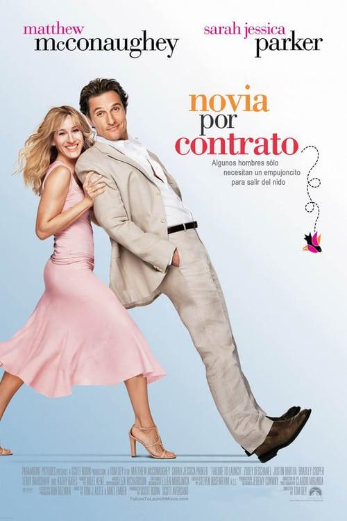Póster película Novia por contrato