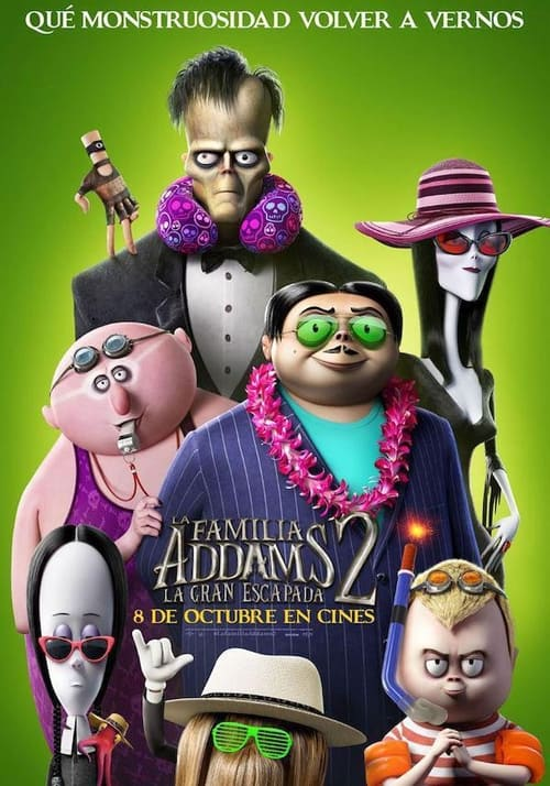 La familia Addams 2: La gran escapada poster