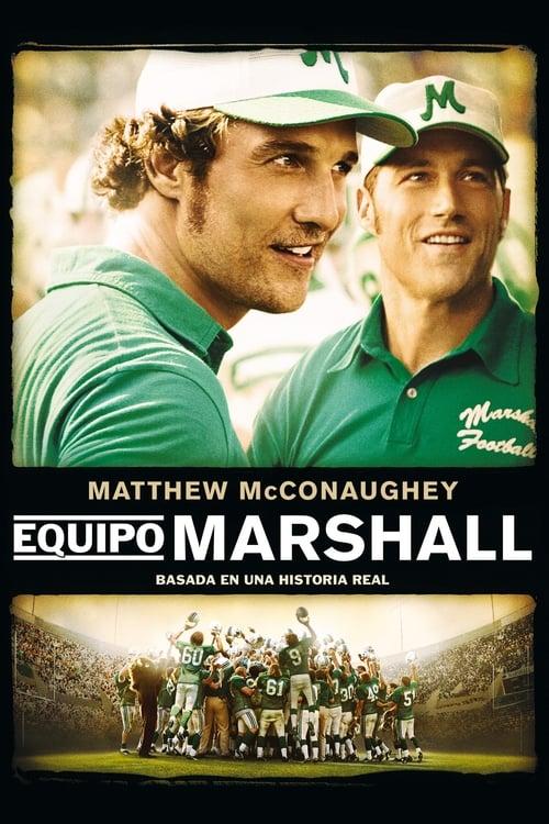 Póster película Equipo Marshall