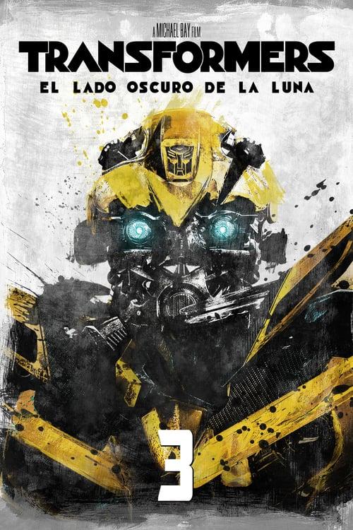 Póster película Transformers: El lado oscuro de la Luna