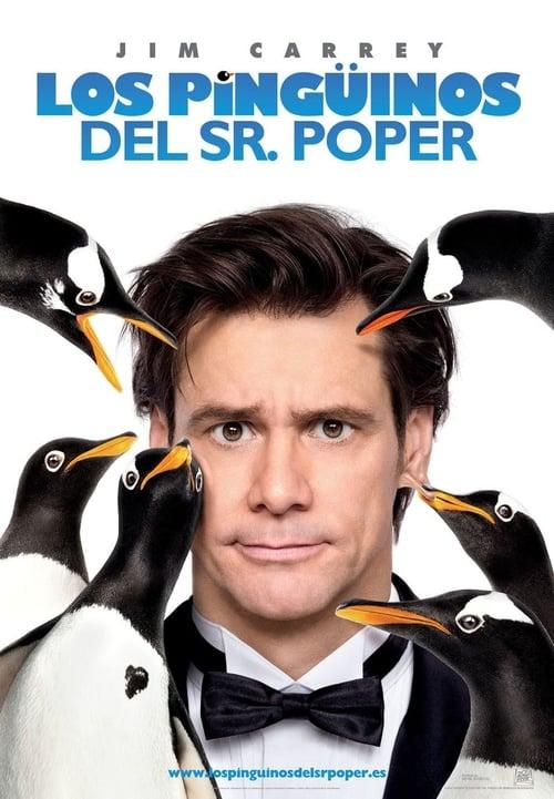 Los pingüinos del Sr. Poper poster