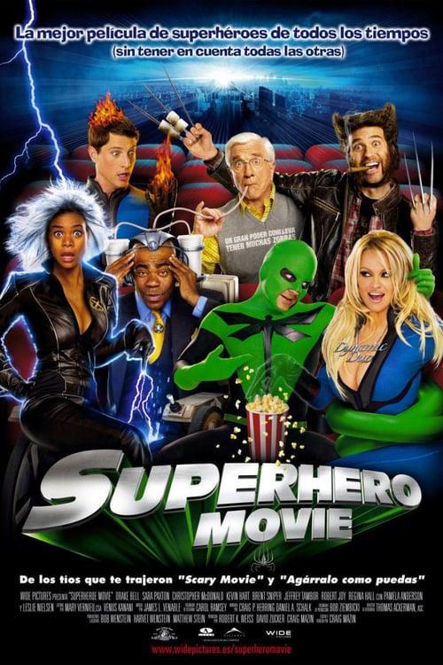 Póster película Superhero Movie