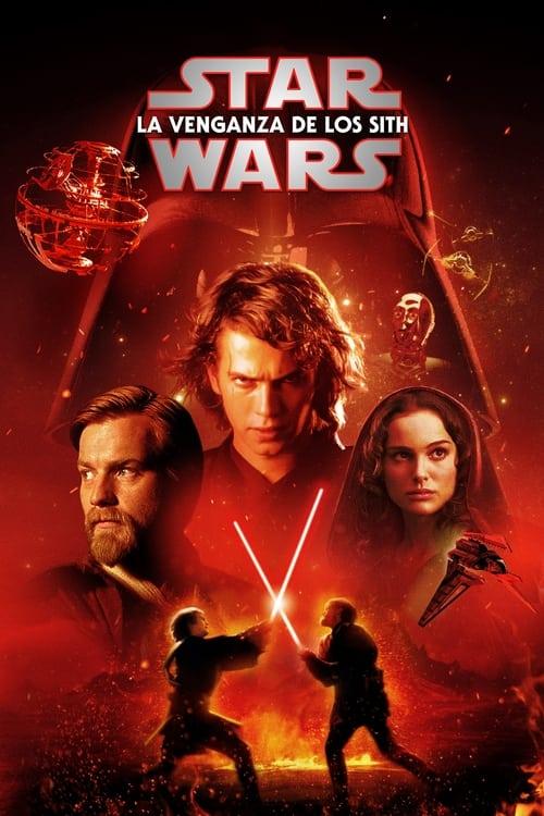 Póster película La guerra de las galaxias. Episodio III: La venganza de los Sith