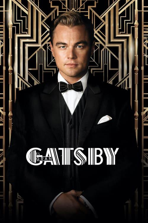 Póster película El gran Gatsby