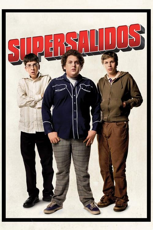 Póster película Supersalidos