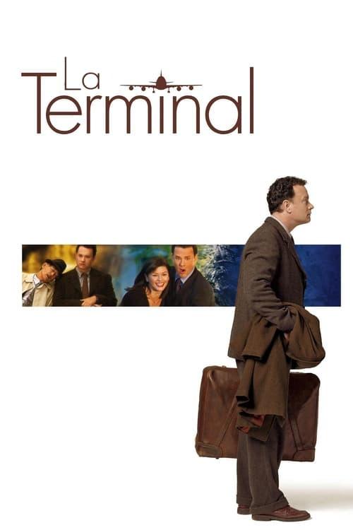 Póster película La terminal