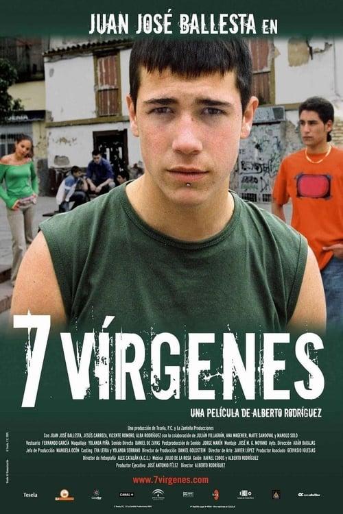 7 vírgenes poster