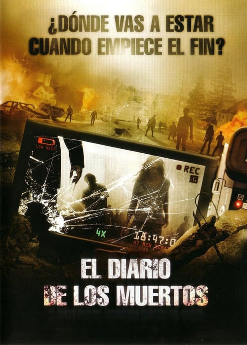 El diario de los muertos poster