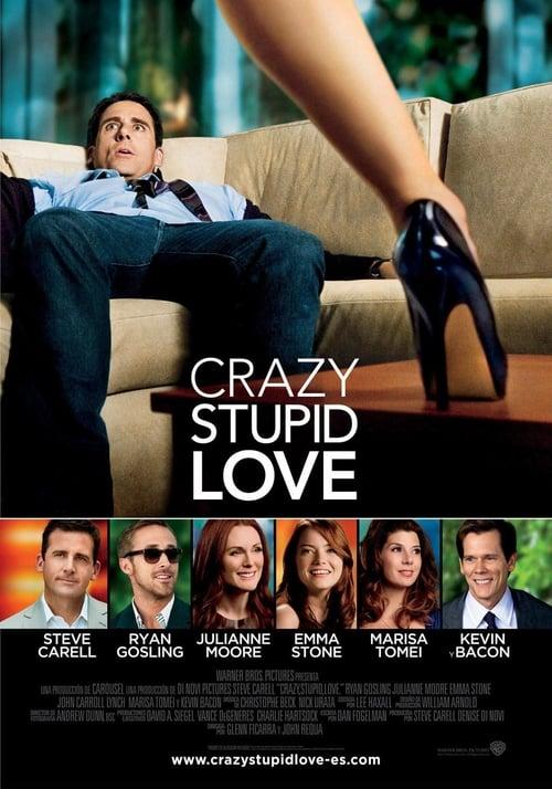 Póster película Crazy, Stupid, Love