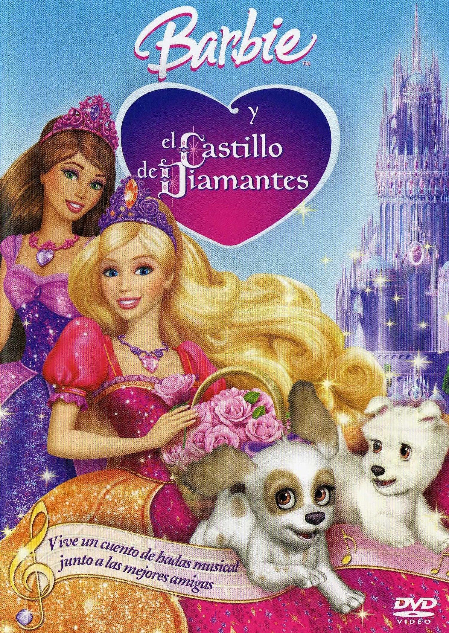 Póster película Barbie y El Castillo de Diamantes