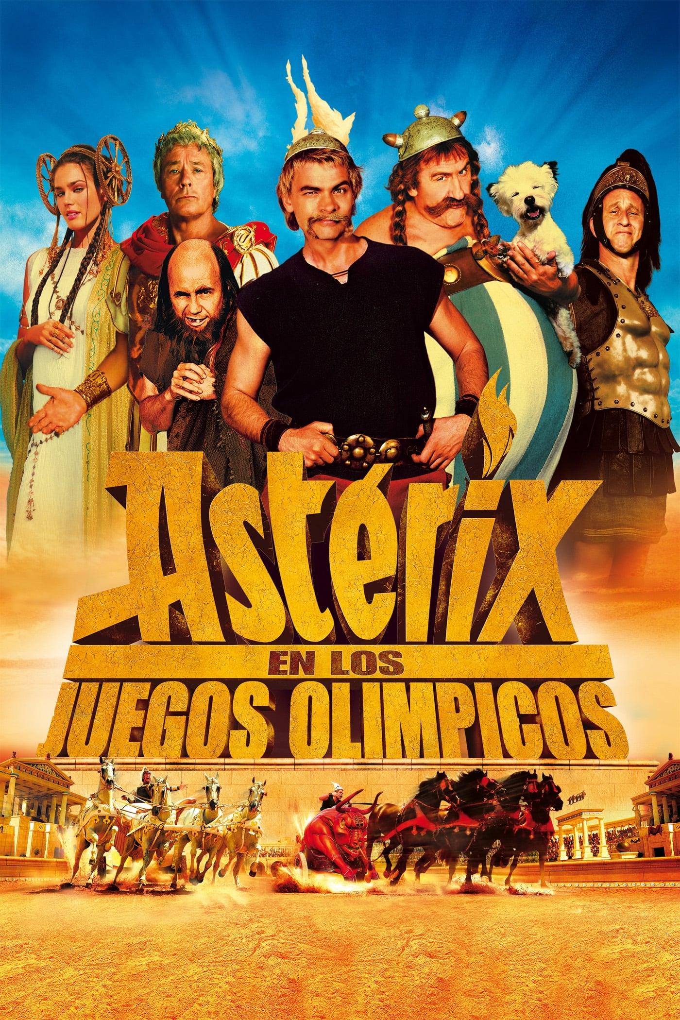 Póster película Astérix en los Juegos Olímpicos