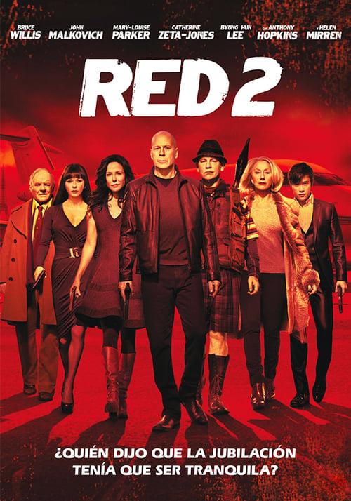 Póster película RED 2