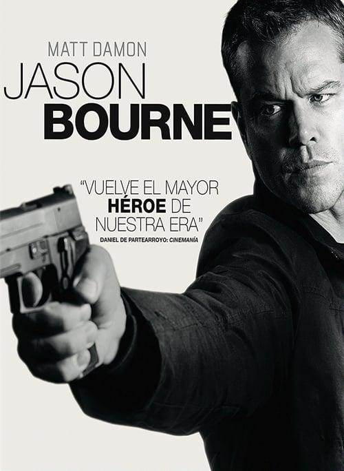Póster película Jason Bourne