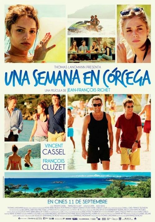 Una semana en Córcega poster