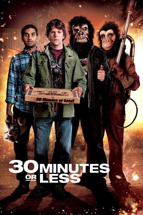 Póster película 30 minutos o menos
