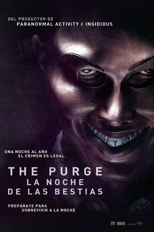 The Purge: La noche de las bestias poster