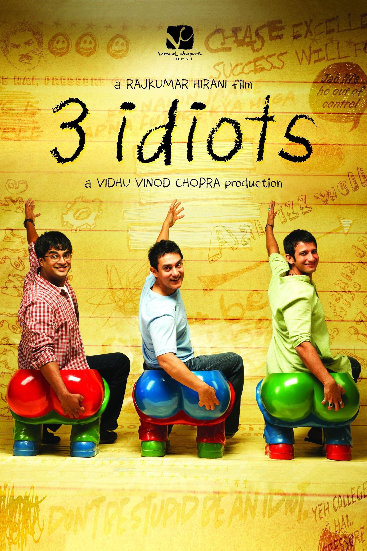 Póster película 3 Idiots