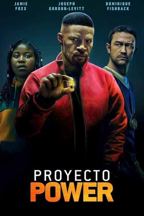 Póster película Proyecto Power