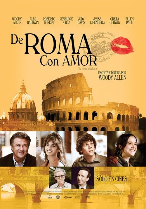 Póster película A Roma con amor