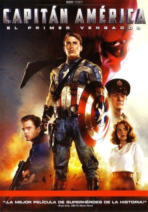 Póster película Capitán América: El primer vengador