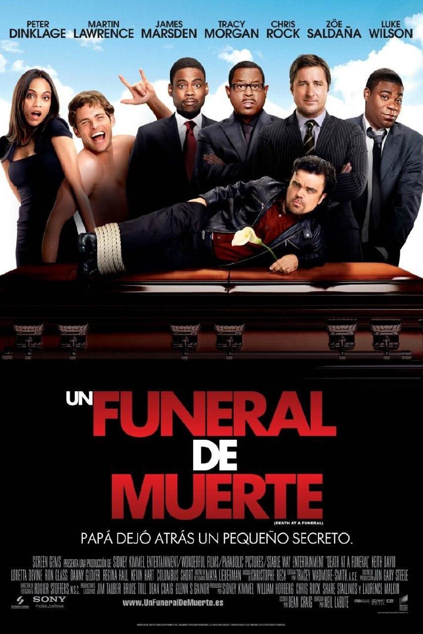 Un funeral de muerte poster