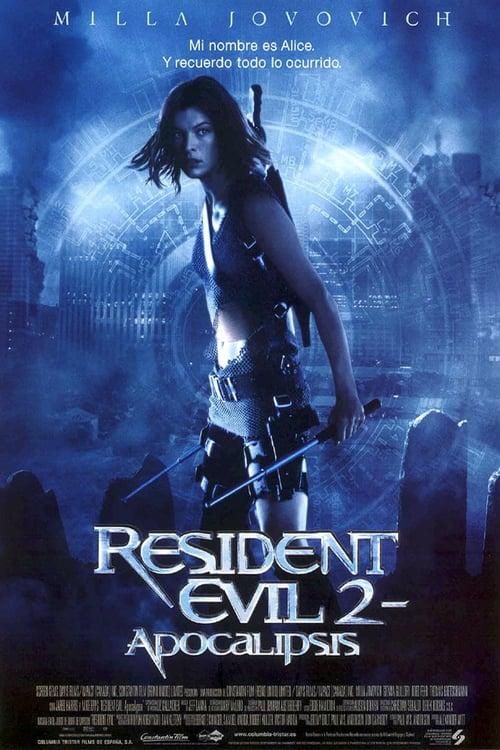 Resident Evil 2: Apocalipsis poster