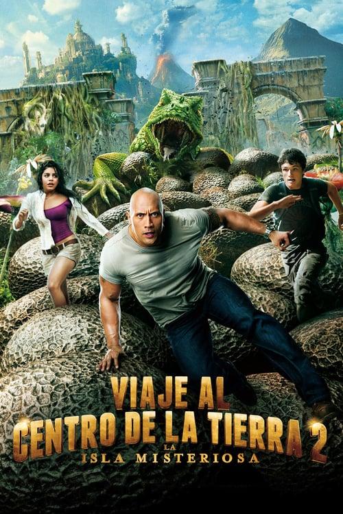 Viaje al centro de la Tierra 2: La isla misteriosa poster