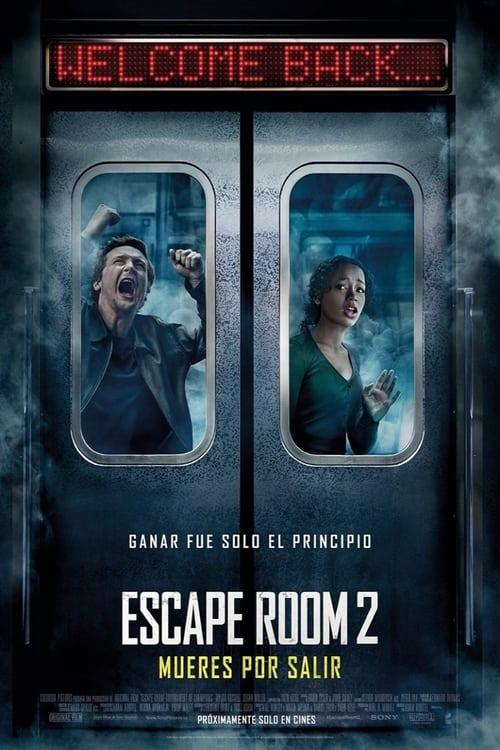 Póster película Escape Room 2: Mueres por salir
