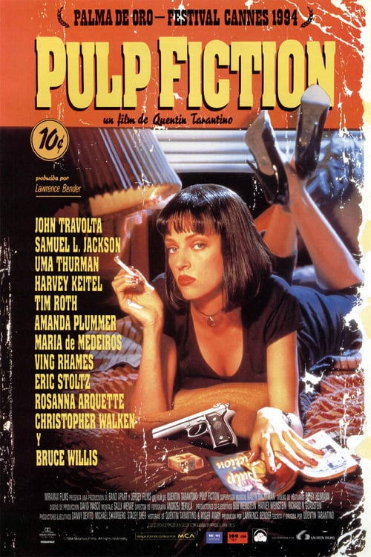 Póster película Pulp Fiction