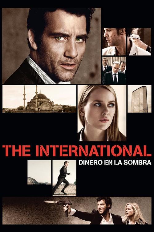 Póster película The International: Dinero en la sombra
