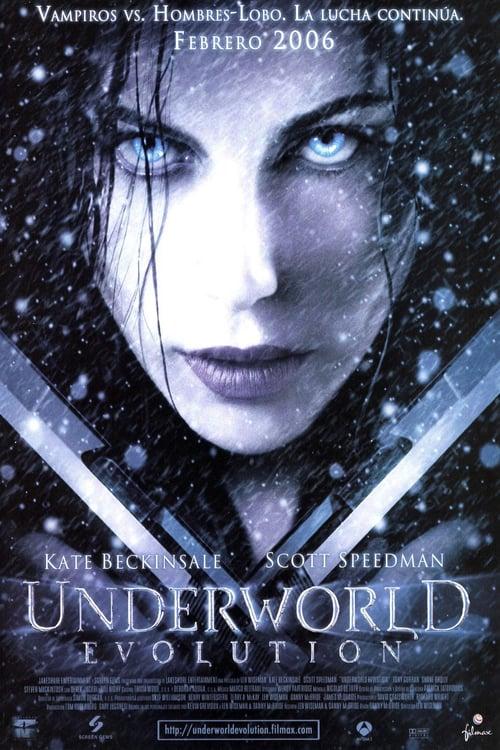 Póster película Underworld: Evolution
