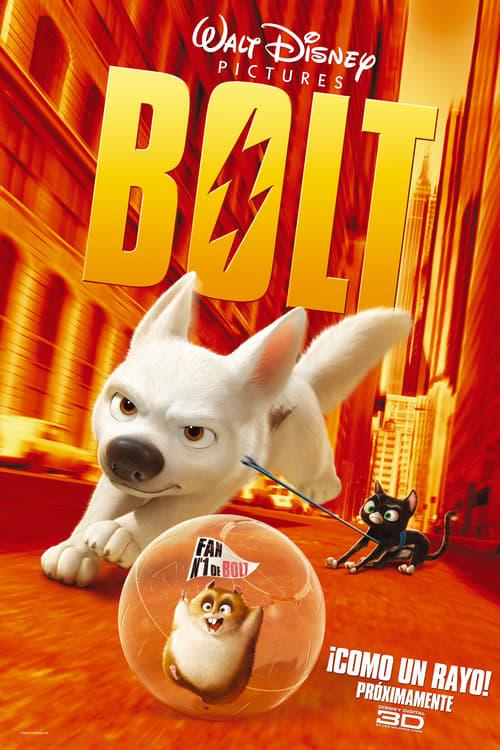 Póster película Bolt