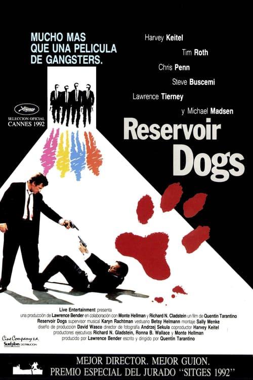 Póster película Reservoir Dogs