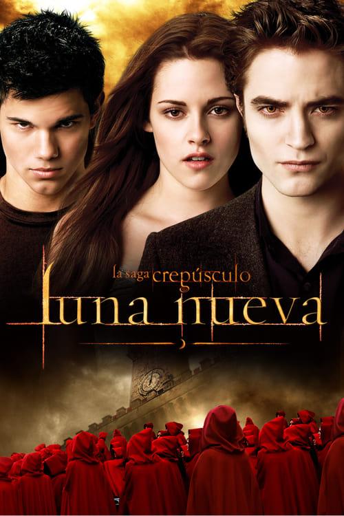 Póster película La saga Crepúsculo: Luna nueva